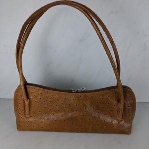 Alex Firenze Ostrich Bag